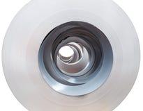 Close up Rolls of metal sheet Royalty Free Stock Photos