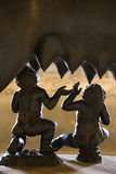 Close-up of Romulus and Remus Statue Royalty Free Stock Photo