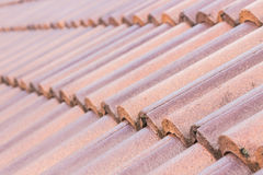 Close up roof of home Royalty Free Stock Image
