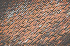 Close-up of roof tiles Royalty Free Stock Image