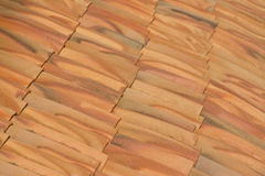 Close-up of roof tiles Stock Photography
