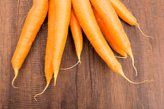 Close up root vegetable carrots Stock Images