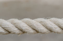 Close-up of rope  Royalty Free Stock Photo