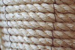Close up of rope Royalty Free Stock Image
