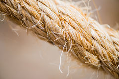 Close up rope Stock Image