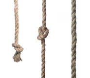 Close-up of rope with knot Stock Photography