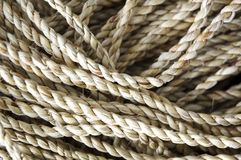 Close up rope Stock Photo