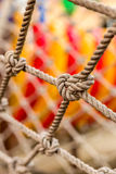 Close-up Rope Texture / Rope Texture / Close-up Rope in Playground Stock Images