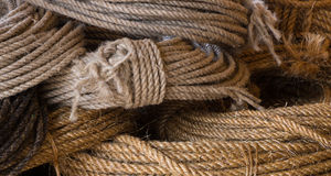 Close up of ropes Stock Image