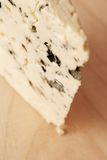 Close up of roquefort cheese Royalty Free Stock Photography