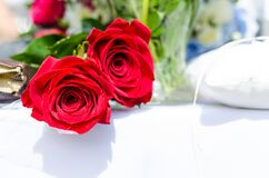 Close-up of Rose Bouquet Royalty Free Stock Photos