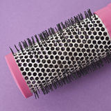 Close Up of Round Pink Brush Royalty Free Stock Photos