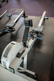 Close up of a Rowing machine Stock Photography