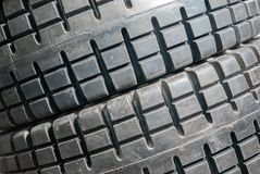 Tyres close up Royalty Free Stock Image