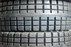 Tyres close up Royalty Free Stock Images