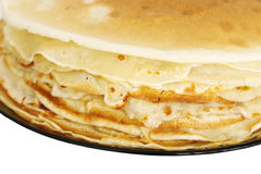 Close up of Russian Pancakes Royalty Free Stock Photography