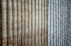 Close up of rust zinc.  use for background and texture Royalty Free Stock Image