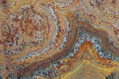 Close up of rusted corroded grunge rough metal surface 1 Royalty Free Stock Photography