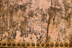 Close up of rusted metal tank Stock Photos