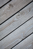 Close up of rustic wall from old wooden boards Stock Photo