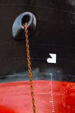 Anchor Chains Royalty Free Stock Photography
