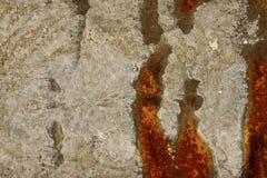 Close up Rusty galvanize iron Royalty Free Stock Photo