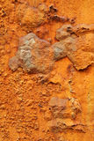 Close up of rusty metal background Stock Photography