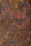 Close up of rusty metal Royalty Free Stock Photography