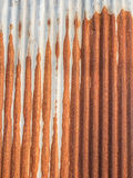 Close up of rusty metallic surface Royalty Free Stock Photography