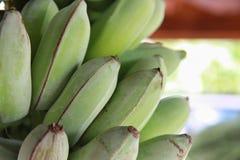 Close-up ruwe banaan Royalty-vrije Stock Foto's