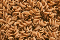 Close-up of rye pasta - spiral shaped Stock Photo