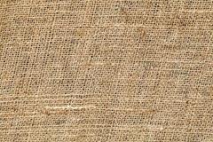 Close up of sackcloth Royalty Free Stock Photography