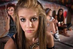 Close Up of Sad Girl Stock Photo