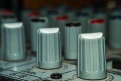 Close-up sadio dos interruptores imagens de stock royalty free