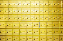 Safety deposit boxes Royalty Free Stock Image