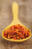 Close up of safflower Stock Photography
