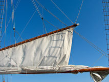 Close up of Sail Stock Photography