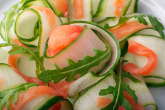 Close-up of a salad Royalty Free Stock Photography
