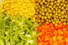 Close up of salad   Stock Photography