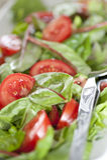 Close Up of salad Stock Image