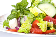 Close up of salad Royalty Free Stock Image