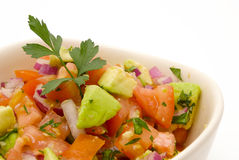 Close up of salsa Royalty Free Stock Images
