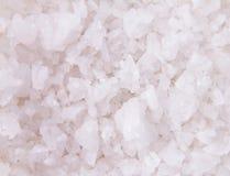 Close up salt crystals as background Stock Photos