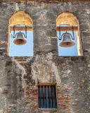 Close up of the San Espada Mission Church Bells Royalty Free Stock Photo