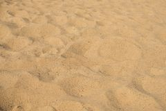 Close up on sand background or texture Stock Photo