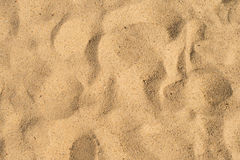 Close up on sand background or texture Stock Images