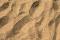 Close up on sand background or texture Royalty Free Stock Photo