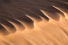 Close up of a sand dune, desert of Sahara Royalty Free Stock Photo