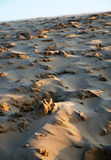 Close-up of sand slope Royalty Free Stock Images