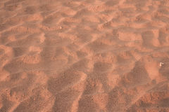Close up of sand texture Royalty Free Stock Photography